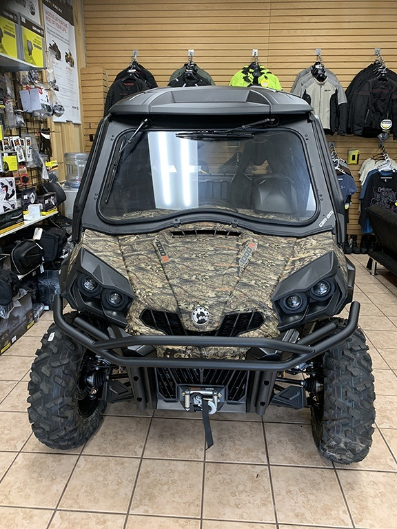 2019 Can Am Commander 1000 with cab enclosure motosports hanover pa