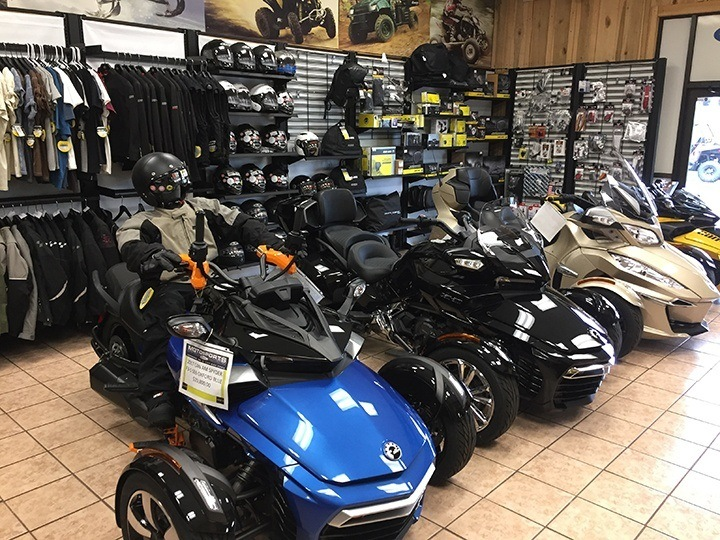 Can Am Spyder Motorcycle hanover pa motosports