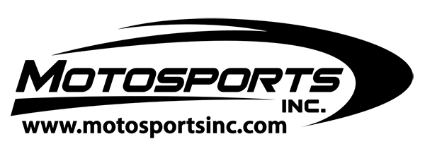 Motosports Inc. Black logo