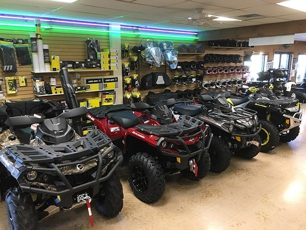 Off road New 2018 Can Am ATV models in stock now!